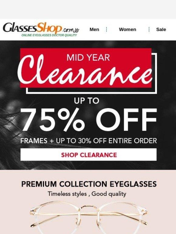 43ea7c905078 GlassesShop.com  OMG! Sale on sales! Don t Wait!