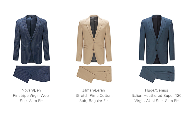 79828714 Hugo Boss: Make a Statement in a BOSS Suit | Shop Online or In Store ...