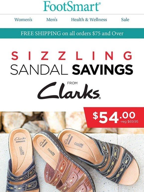 fb9af32ca8f Foot Smart   Clarks Sandals on Sale! Plus