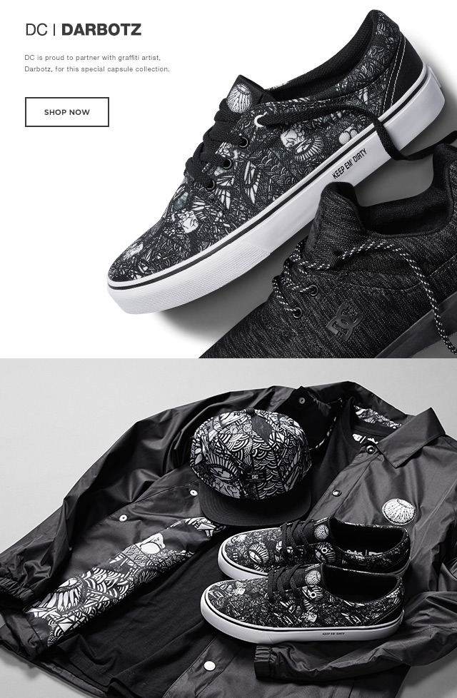 DC Shoes Introducing The DC x Darbotz Collection
