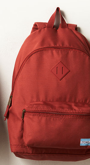 Tomato Red Local Backpack