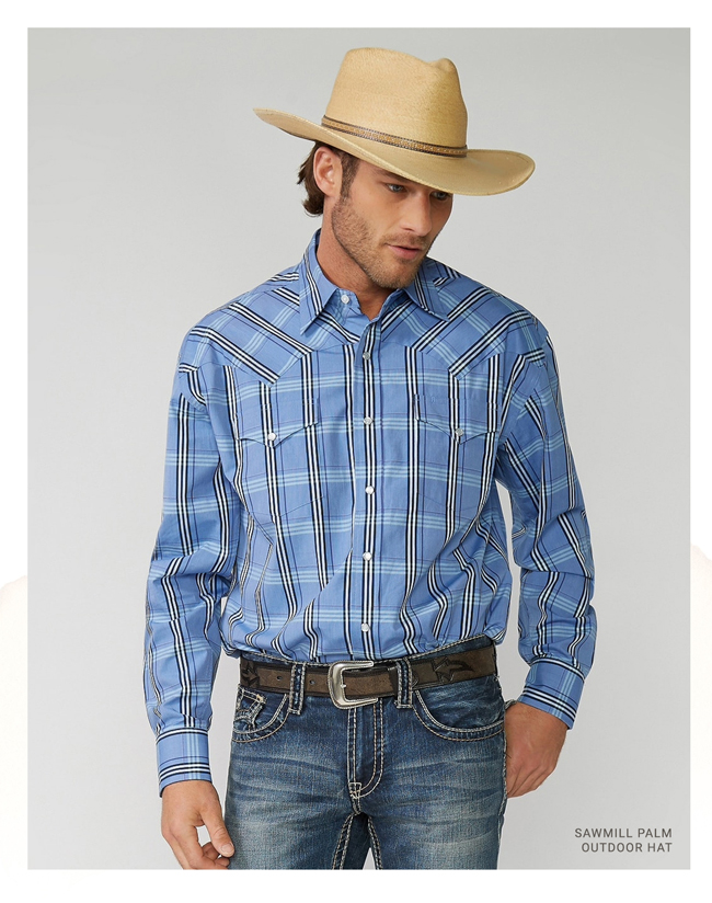 b6a72d10415c STETSON: The Subtle Sophistication of Stetson Straw | Milled