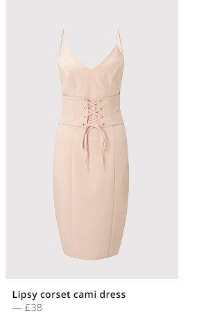 LIPSY CORSET CAMI DRESS