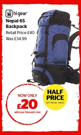Hi Gear Nepal Backpack