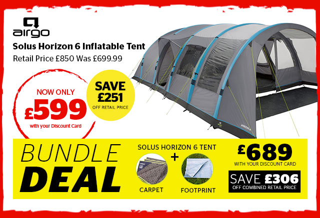 Airgo Solus Horizon 6 Inflatable Tent