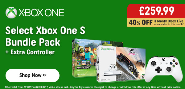 Xbox One S 500GB Forza Horizon 3 Bundle with Extra Controller