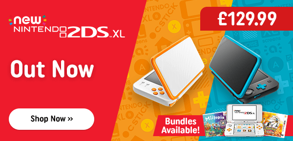 NEW Nintendo 2DS XL Consoles