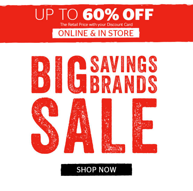 BIG Savings, Big Brands