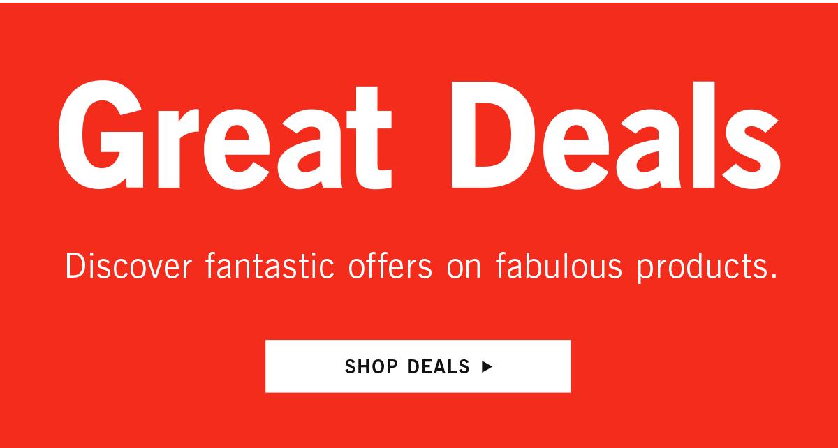 Shop Great Deals