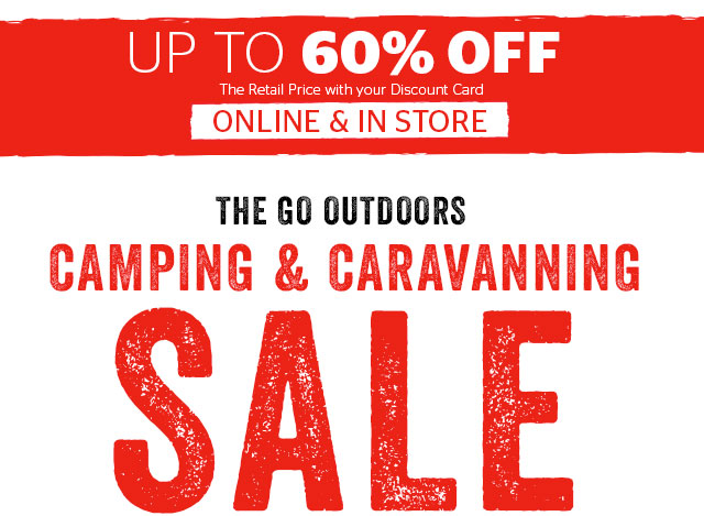 Camping & Caravanning Sale