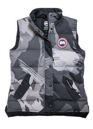 canada goose Vests Grey Camo