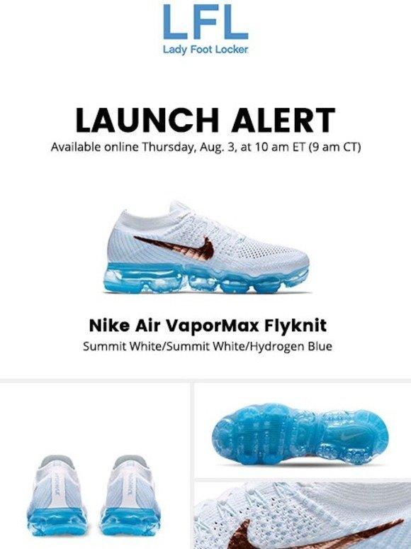 7cd3aaa9d09 Lady Foot Locker  Nike Air VaporMax Flyknit – available 8.3