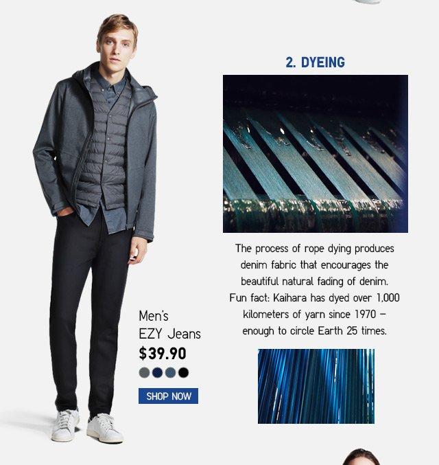 Men's EZY Jeans $39.90 -- SHOP NOW