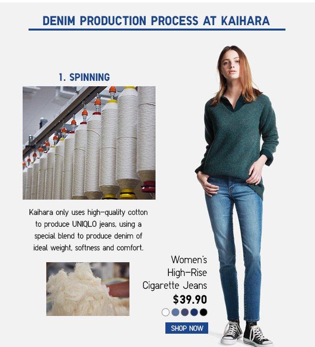 Women's High-Rise Cigarette Jeans $39.90 -- SHOP NOW