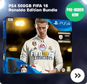 Playstation 4 500GB FIFA 18 Ronaldo Edition Bundle