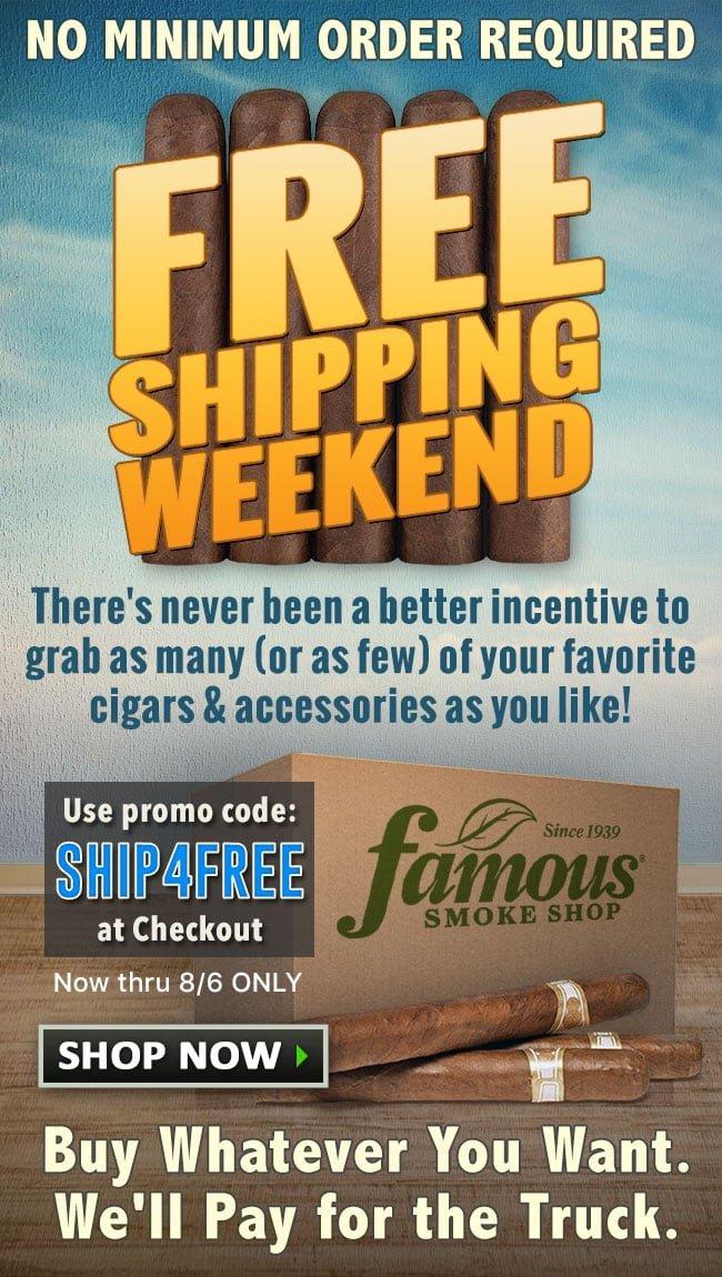 4f53bcfa4 Famous Smoke Shop  Free Shipping  No Minimum Order!
