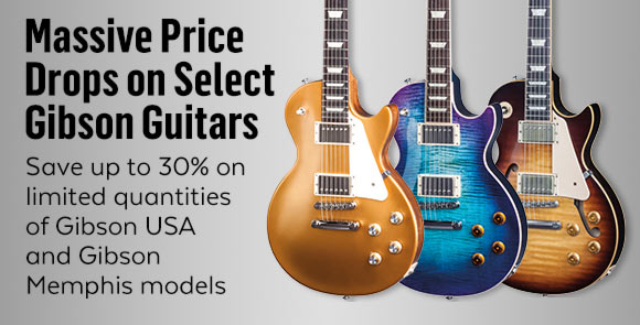 Guitar Center: Gibson price drops now include select