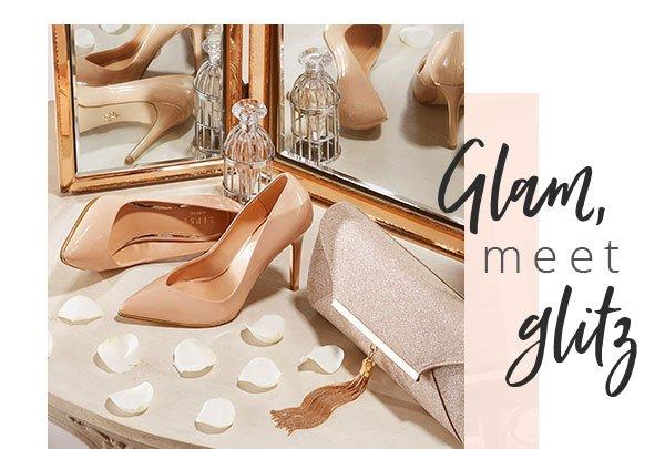 Glam, meet glitz - Lipsy Tassel Clutch Bag