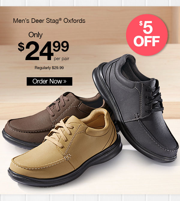 Deer Stags 902 Collection Oxfords