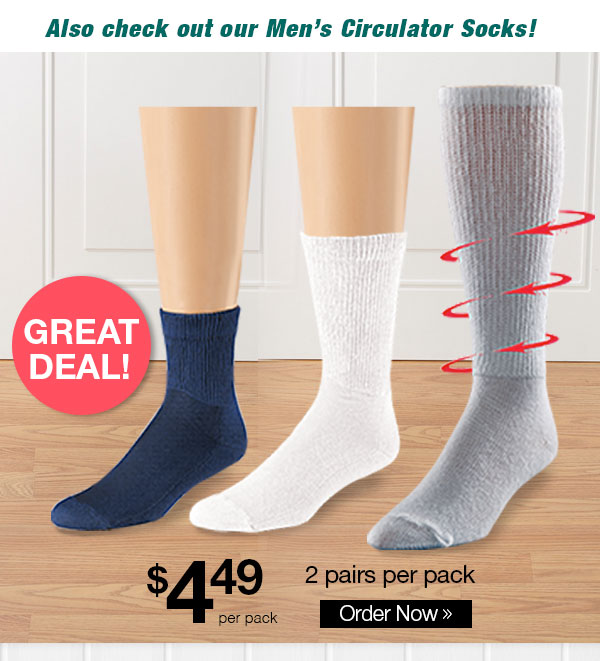 HealthRite Cotton Circulator Socks