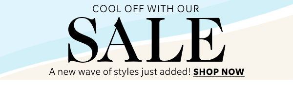 Cool off with our SALE!