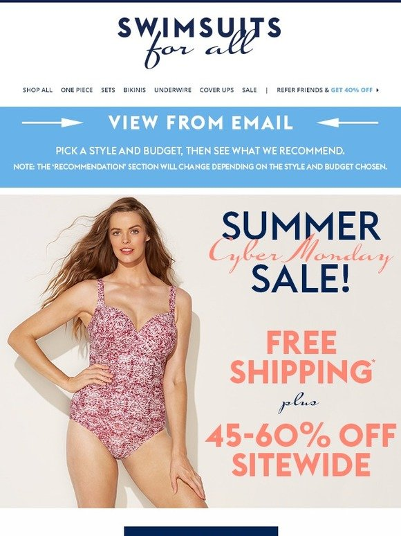40e6f61ea70f7 swimsuitsforall.com  Free Shipping + 45-60% Off Sitewide!