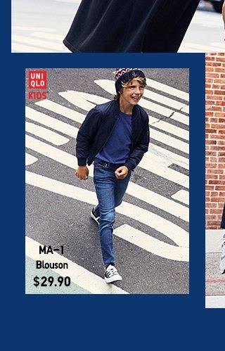 Boy's MA-1 Blouson $29.90 - SHOP NOW