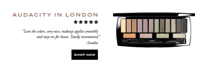 AUDACITY IN LONDON - SHOP NOW