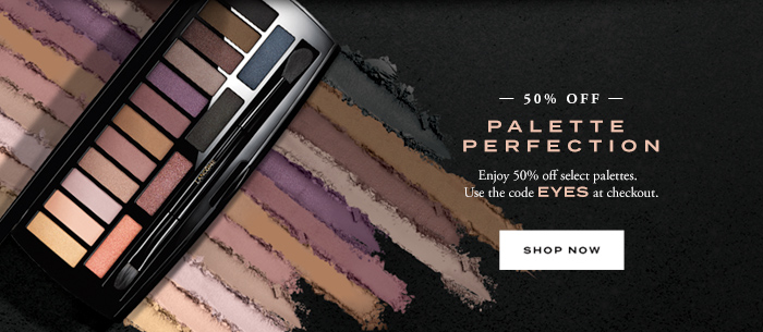 50% OFF PALETTE PERFECTION - SHOP NOW