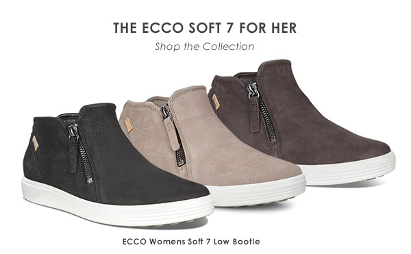 f2b6adc797277 Buy ecco womens soft 7 low bootie - 55% OFF