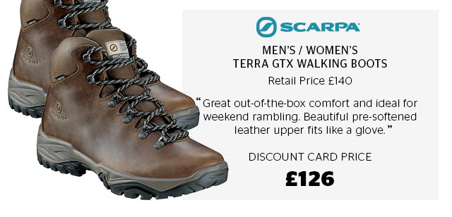 Scarpa Men's and Women's GTX Walking Boots