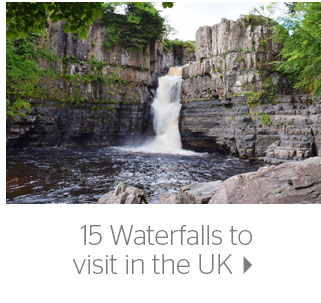 15 Waterfalls to visit in the UK