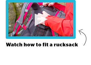 How to fit a rucksack video