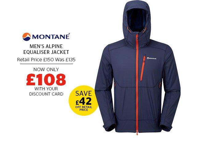Montane Men's Alpine Equaliser Jacket