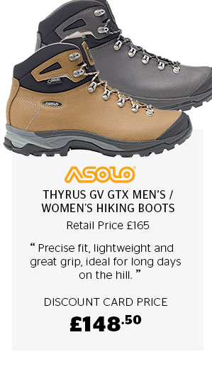 Asolo Thyrus GV GTX Men's and Women's Hiking Boots