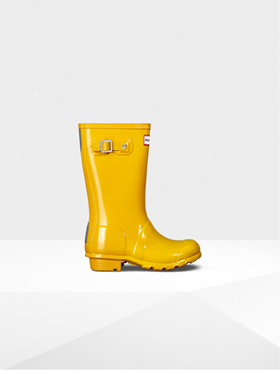 Original Kids Gloss Wellington Boots