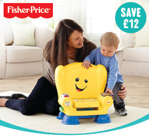 Fisher-Price Laugh & Learn Smart Stage Chair Yellow