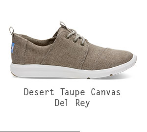 Desert Taupe Poly Women's Del Rey Sneakers