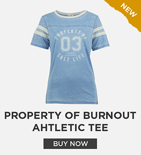 Property Of Burnout Ahtletic Tee