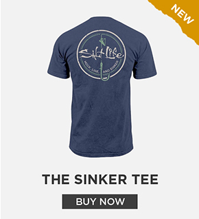 The Sinker Salt Wash Pocket Tee