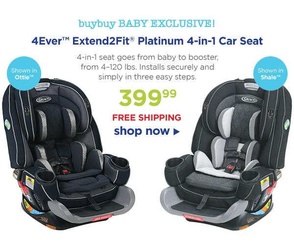 Buybuy BABY EXCLUSIVE 4EverTM Extend2FitR Platinum 4 In
