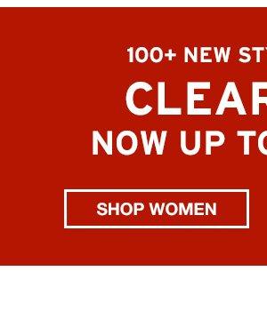CLEARANCE | SHOP WOMEN