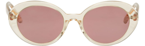 Oliver Peoples The Row - Beige Parquet Sunglasses
