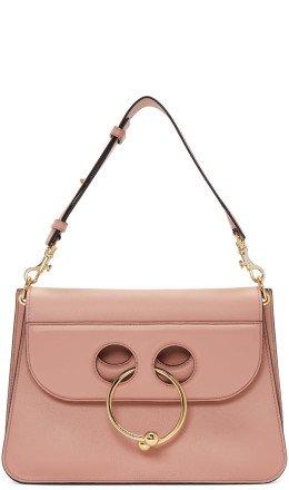 J.W. Anderson - Pink Medium Pierce Bag