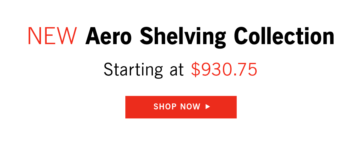 Aero Shelving Collection
