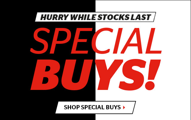 Special Buys - hurry while stocks last