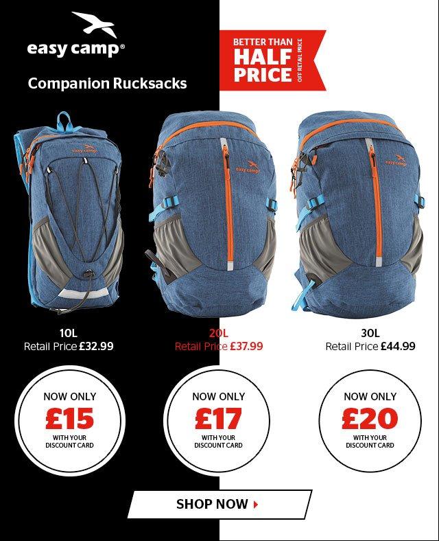 Easy Camp Companion Rucksacks