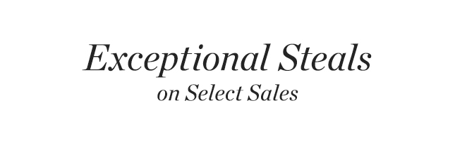 Exceptional Steals
