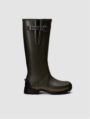 Women's Balmoral Side Adjustable 3mm Neoprene Wellington Boots