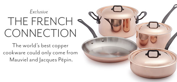 New Jacques Pepin Collection
